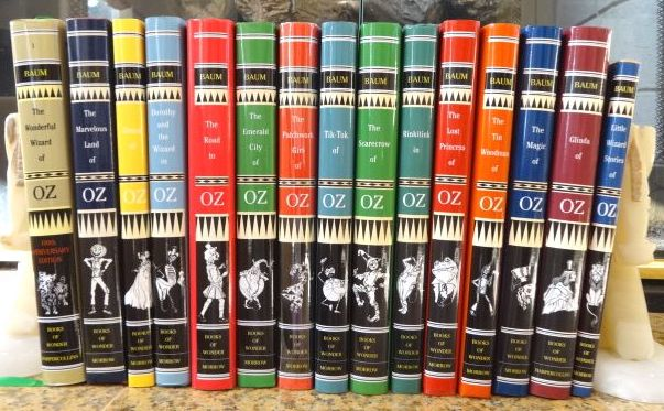 Wizard of Oz Books Set L Frank Baum Books of Wonder