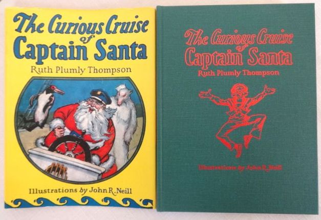 Curious Cruise of Captain Santa Book