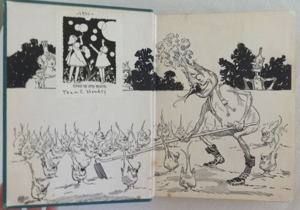 Sold HUNGRY TIGER OF OZ Book 12 Color Plates Ruth Plumly Thompson Wizard of Oz Book 1930 & Sold: HUNGRY TIGER OF OZ Book 12 Color Plates Ruth Plumly Thompson ...