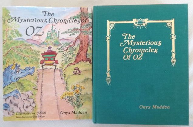 Mysterious Chronicles of Oz Signed BOok