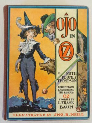 Ojo in oz book 1st edition