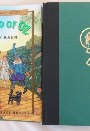 Signed Wizard of Oz Michael Hague Book