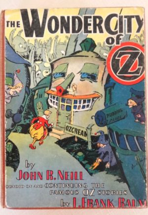 Wonder City of Oz Book John R Neill