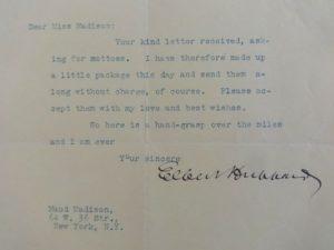 1907 Roycroft Letterhead Elbert Hubbard Letter