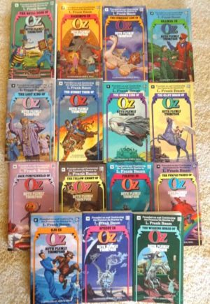 Del Rey Wizard of Oz Books Thompson