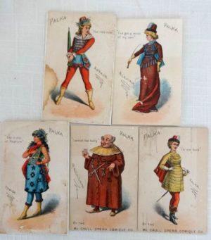 Falka Trade Cards W W Denslow