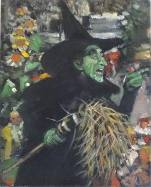 Vincent Myrand Wicked Witch Original Art