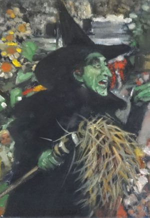 Vincent Myrand Wicked Witch Original Art