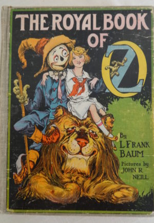 vRoyal Book of Oz Book Copp Clark 1st Edition
