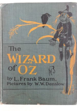 Wizard of Oz Book 2nd edition bobbs merrill