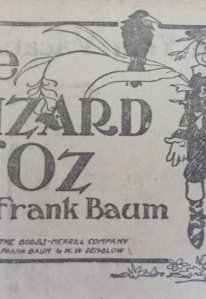 Wizard of Oz 1909 Newspaper
