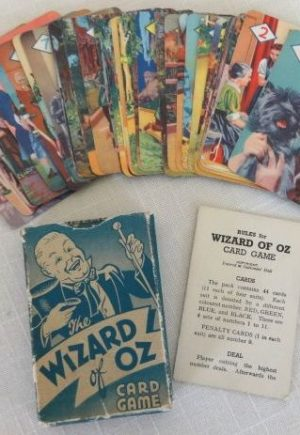 MGM Wizard of Oz British Playing Cards