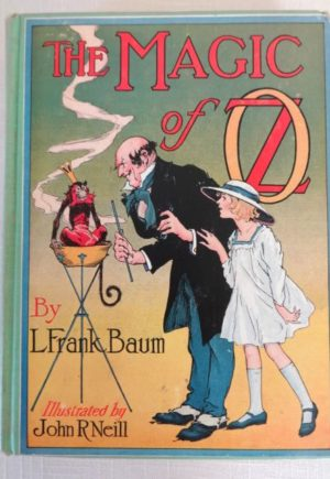 the Magic of Oz Book l frank baum