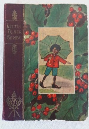 Little Black Sambo Christmas Stocking L Frank Baum 1st edition 1905