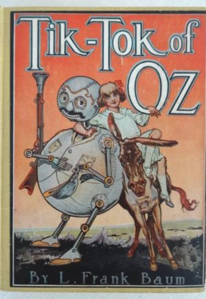 Tiktok of Oz Book Color Plates