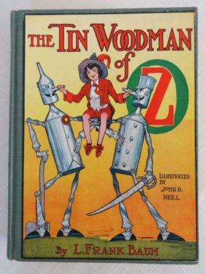 Tin Woodman of Oz Book L Frank Baum