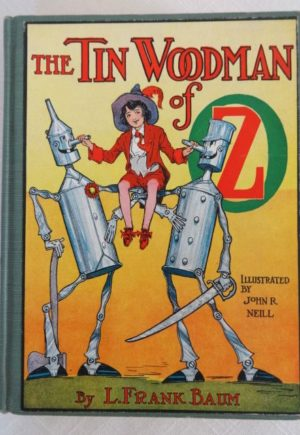 Tin Woodman of Oz Book L Frank Baum