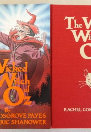 Wicked Witch of Oz Book Signed 1st edition dust jacket cosgrove