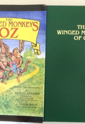 Winged Monkeys of Oz Book Signed 1st Edition