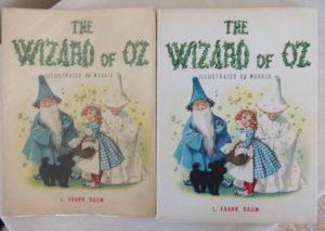 Wizard of Oz Maraja Book Dust Jacket
