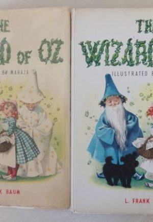 Wizard of Oz Maraja Book Dust Jacket
