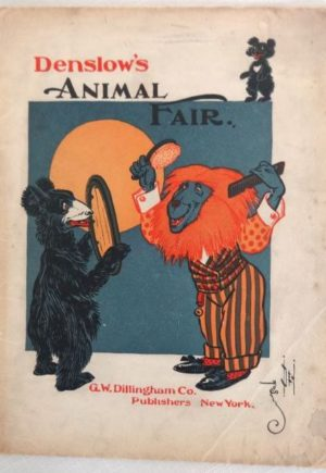 Denslows Animal Fair Book 1st Edition W W Denslow