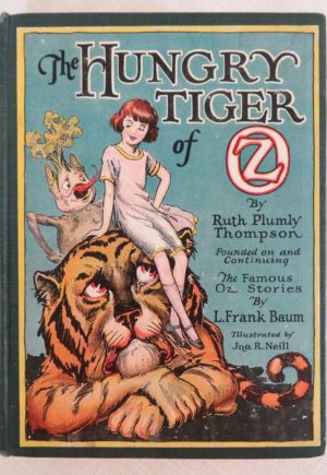Hungry Tiger of Oz 12 color plates