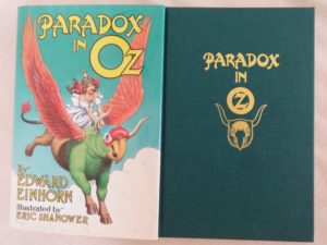 Paradox in Oz Book Wizard of oz signed shanower