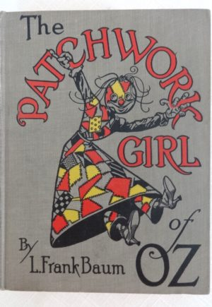 Patchwork Girl of Oz book l frank baum reilly lee