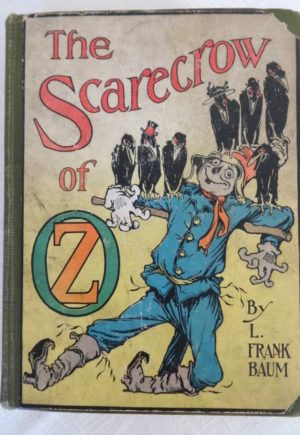 Scarecrow of Oz Book Reilly & Lee Color Plates