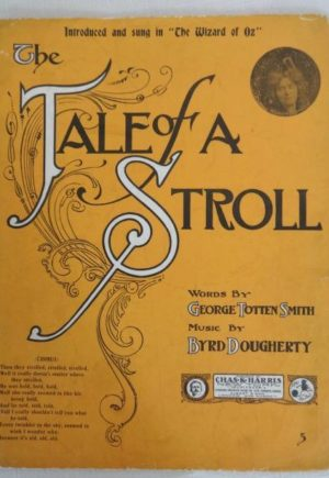 Tale of a Stroll Wizard of Oz Sheet Music 1905