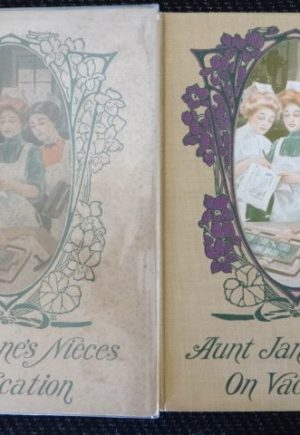 Aunt Jane's Nieces on Vacation Dust Jacket 1st edition