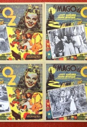 Il Mago de Oz Lobby Cards 1939 Movie