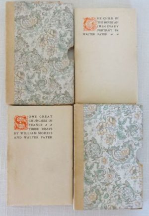 Mosher Press Book Set Slipcase William Morris