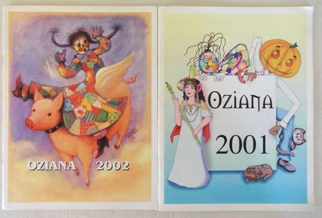 Oziana Wizard of Oz Color Fanzine