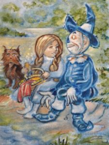 Vincent Myrand Original Wizard of Oz Painting