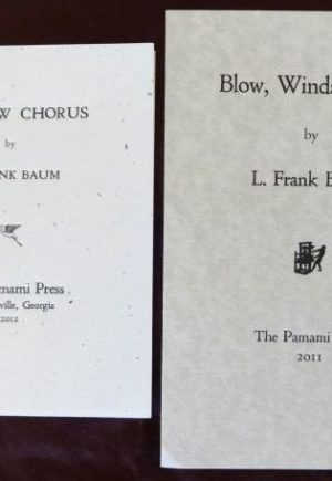 Blow Winds Rainbow Chorus Pamami Press l frank baum