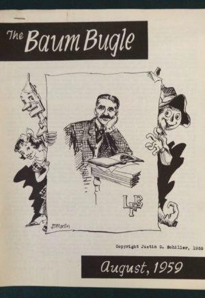 Baum Bugle August 1959