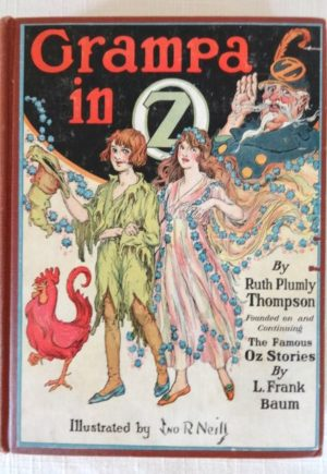 in Oz Book Ruth Plumly Thompson book