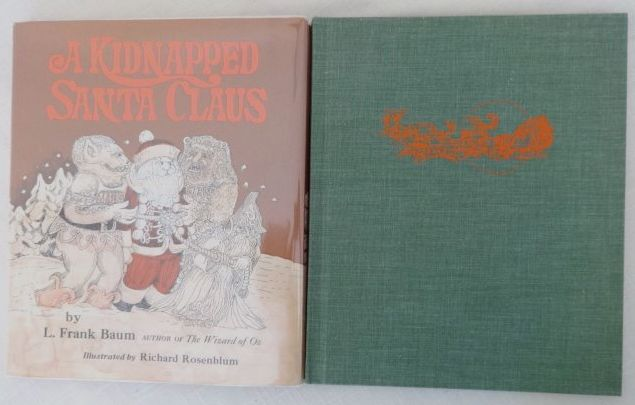 Kidnapped Santa Claus L Frank Baum book