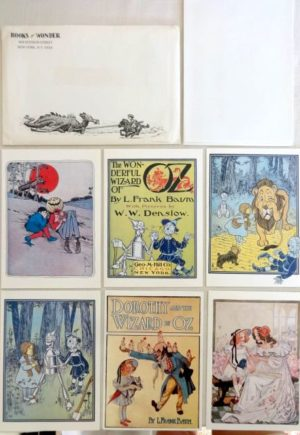 Books of Wonder Wizard of Oz Cards