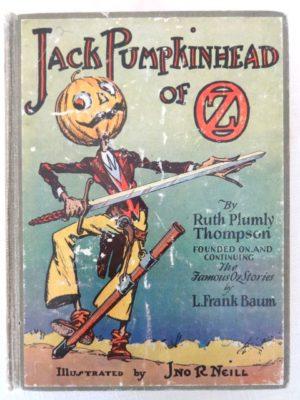 Jack Pumpkinhead of oz book 1st edition