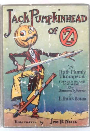Jack Pumpkinhead of oz book 1st edition