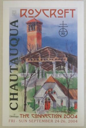 Roycroft Chautauqua Poster 2004