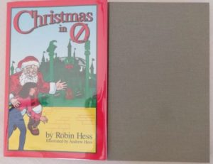 Christmas in Oz Book Wizard of Oz Hess Signed