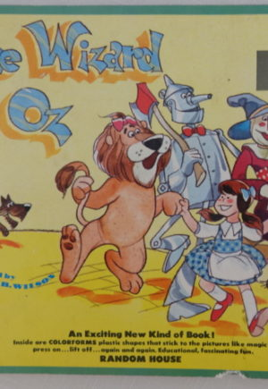 Wizard of Oz Colorforms Book