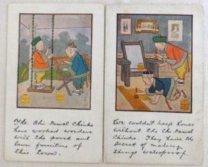 Denslow Chinamel Postcards