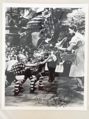 Jerry Maren Munchkin Autograph1