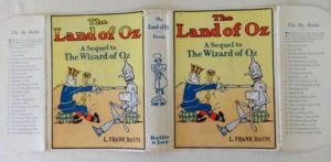 Land of Oz Book Dust Jacket Reilly and Lee