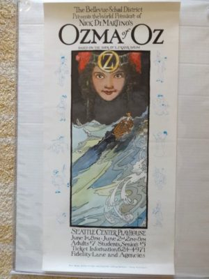 Ozma of Oz MacVeigh Poster